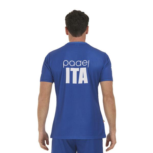 t-shirt padel milano retro