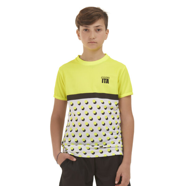 t-shirt roma fronte bambino
